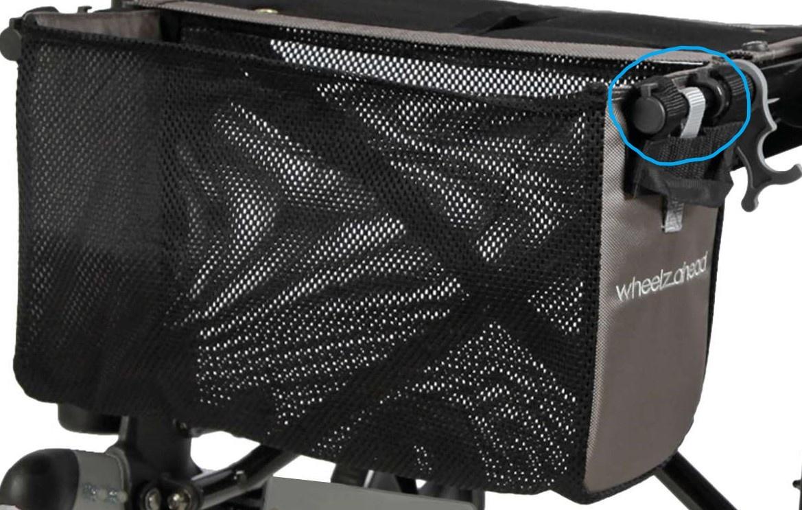 Wheelzahead Pins for Net-bag Rollator TRACK