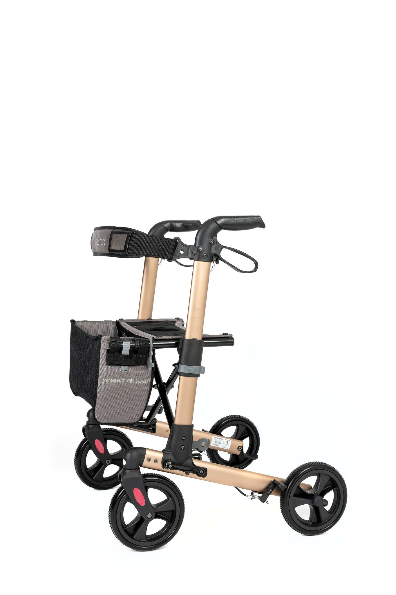Wheelzahead Rollator TRACK Champagne Wheelzahead