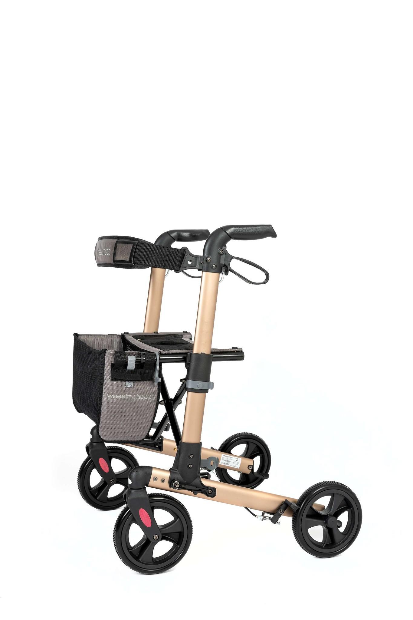 Wheelzahead Rollator TRACK Champagne