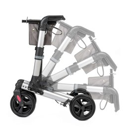 Wheelzahead Rollator TRACK Antraciet