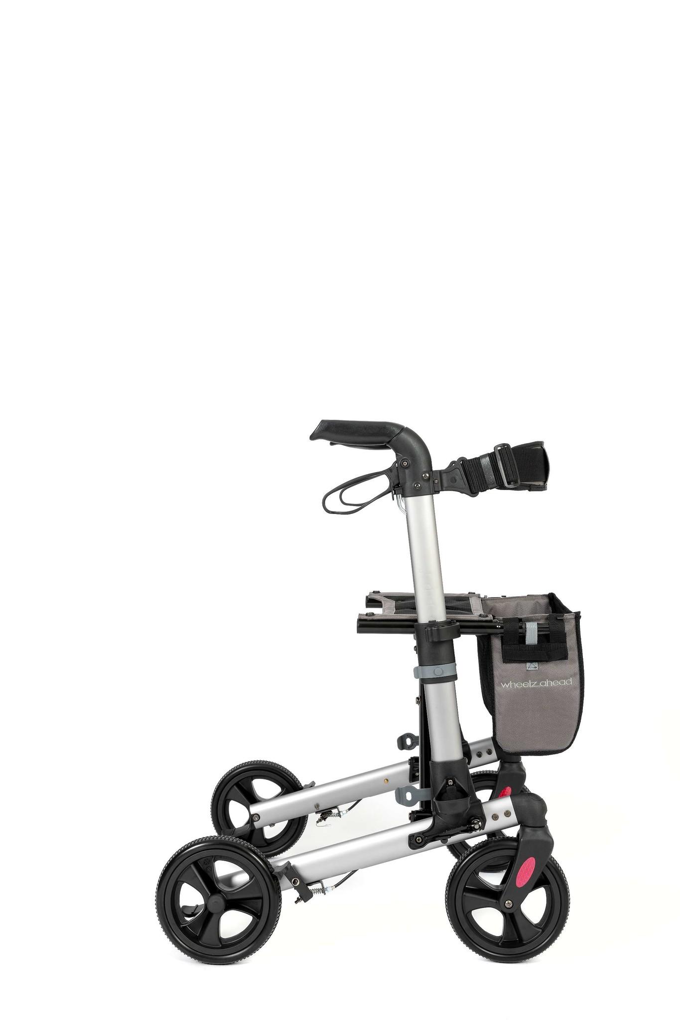 Wheelzahead Rollator TRACK Antraciet Wheelzahead