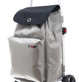 COMFORT Shopping Trolley Silver Grey
