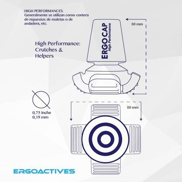 ErgoActives ErgoCap Duurzame Krukdop High Performance
