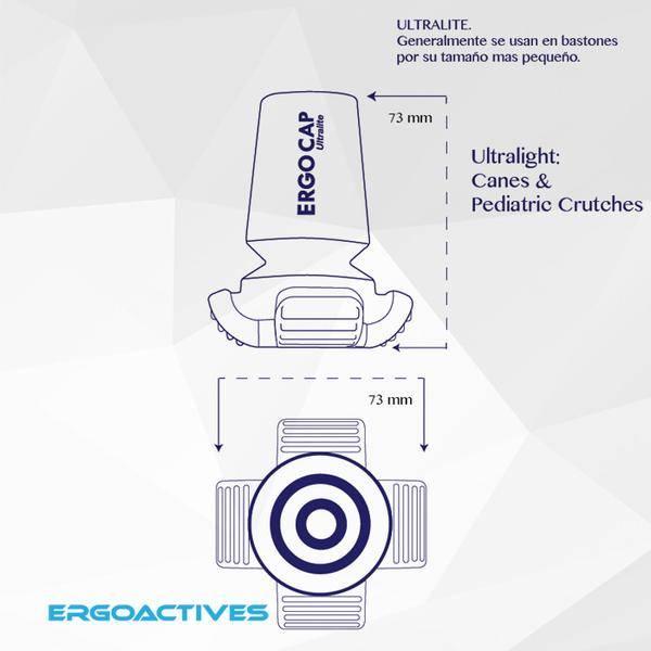 ErgoActives ErgoCap Veiligheids Krukdop Ultra Light