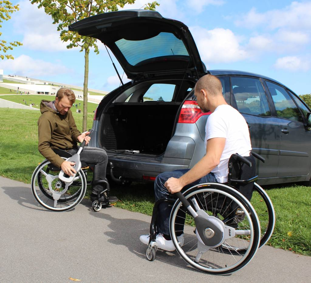 Langhøj Nudrive for manual wheelchairs