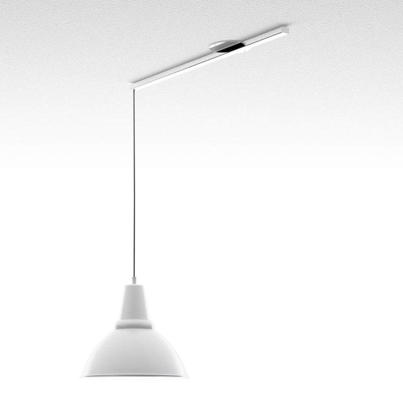 Lightswing Wit Single Ophangsysteem voor hanglampen