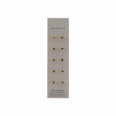House Doctor Gouden magneten set van 10
