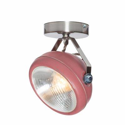 Het Lichtlab Wandlamp - No.7 Spot - ø18xH23cm - Metaal - Marsala