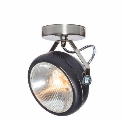 Het Lichtlab No.7 spot koplamp zwart