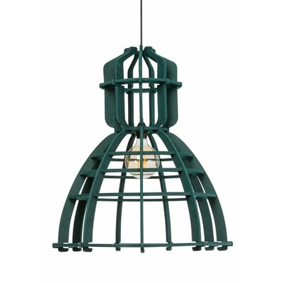Het Lichtlab Hanglamp - No.19 Industrielamp PET - ø60xH72cm - Vilt - Donker groen
