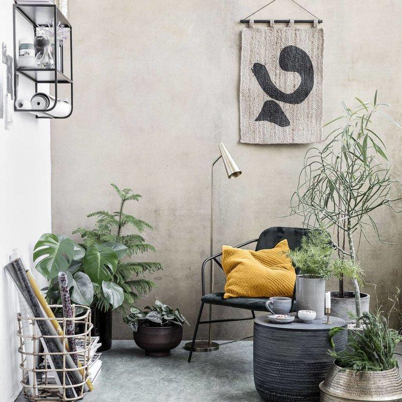 House Doctor Sierkussen fluweel okergeel 50 x 50 cm