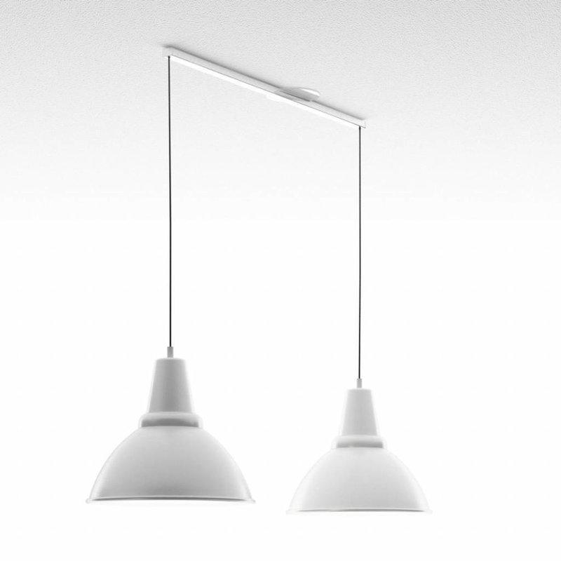 Lightswing Wit Twin Ophangsysteem voor hanglampen