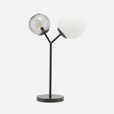 House Doctor gb0127 Tafellamp -Twice-  zwart - H 42 cm