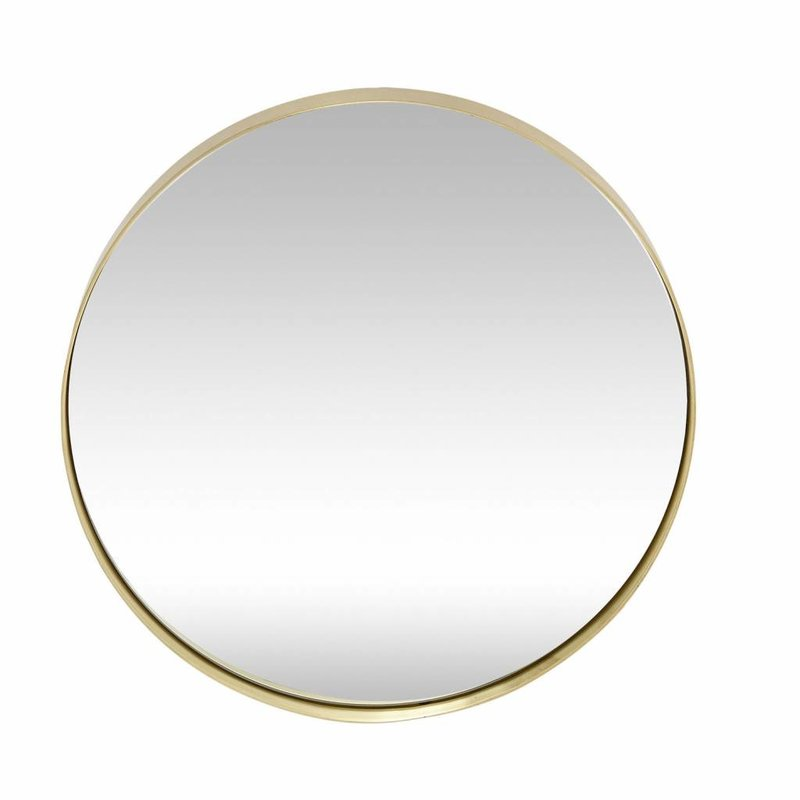 Hübsch 340122 Spiegel - rond - goud - Ø 40cm