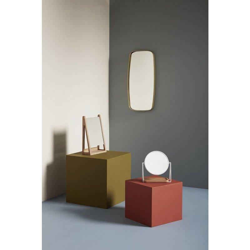 Hübsch 340501 Spiegel - goud - 29 cm x 59 cm