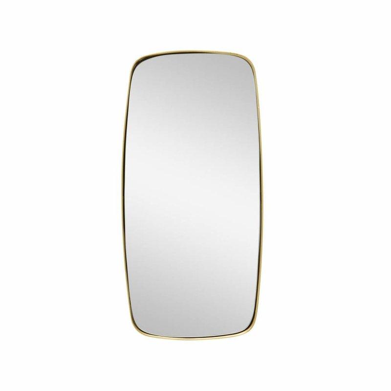 Hübsch Spiegel - goud - 29 cm x 59 cm