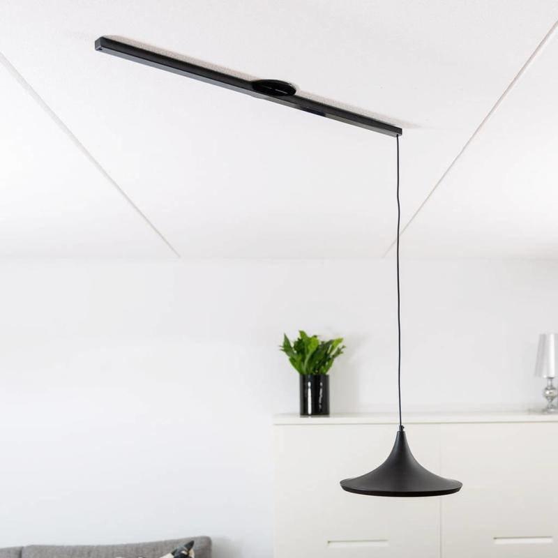 Lightswing Zwart mat Single Ophangsysteem voor hanglampen