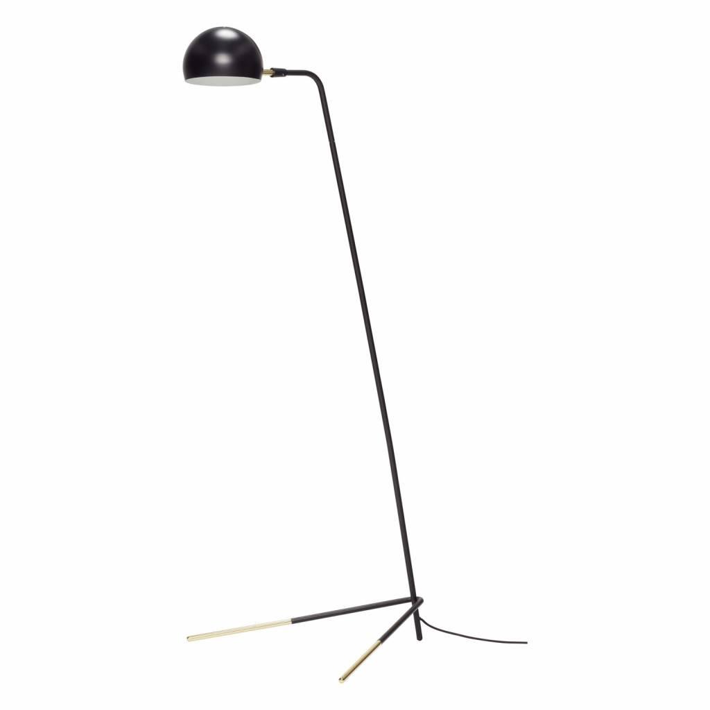H�bsch 370411 vloerlamp-62 x 80 x H150 cm-zwart en messing