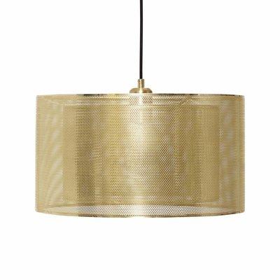 Hübsch 990727 hanglamp - ø40 x H23 cm - messing