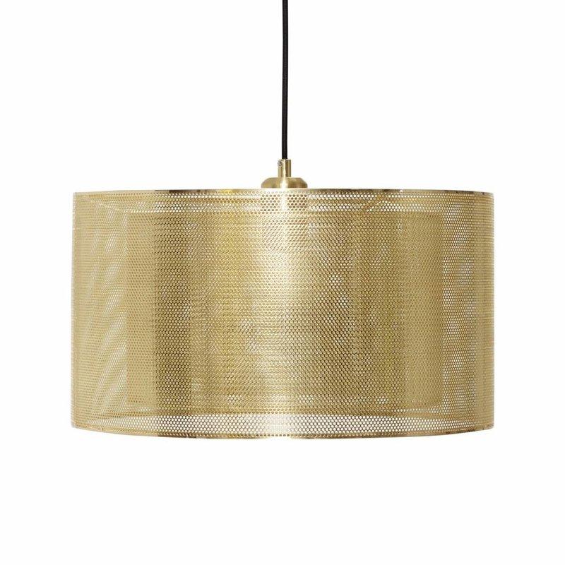 Hübsch 990727 hanglamp – ø40 x H23 cm - messing