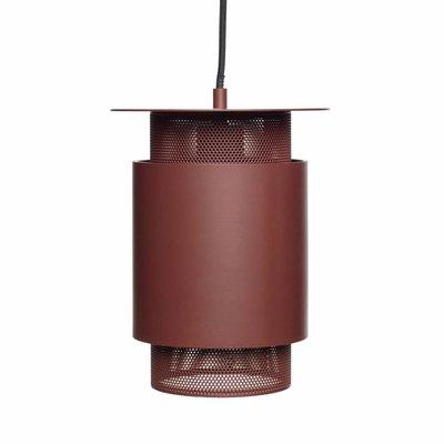 Hübsch 990819 hanglamp - ø20 x H26 cm - rood