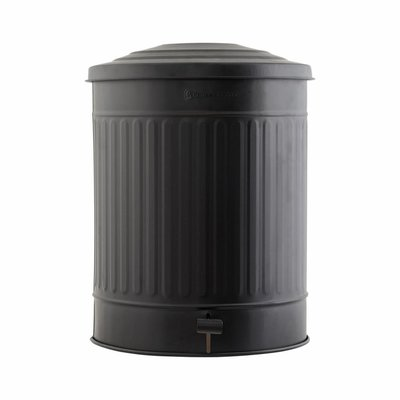 House Doctor AS0118 Afvalemmer - Ø37 x H48 cm - zwart