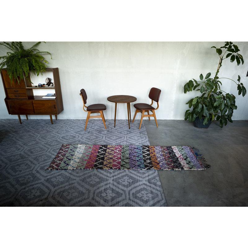 House for Interior nr. 5 Marokkaans Vloerkleed - Boucheroite - Loper - 230 x 72 cm - Multi colour