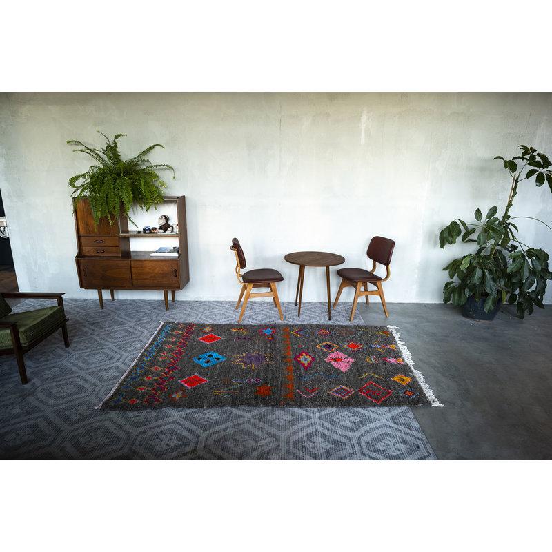 House for Interior nr. 11 Vloerkleed - Azilal - 228 x 137 cm - Grijs - Multi colour