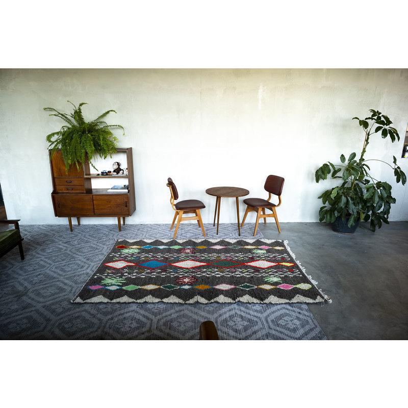 House for Interior nr. 12 Vloerkleed - Azilal - 232 x 148 cm - Grijs - Multi colour