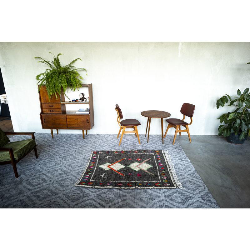 House for Interior nr. 13 Vloerkleed - Azilal - 140 x 115 cm - Grijs - Multi colour