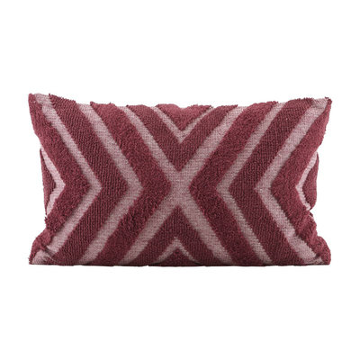 House Doctor JD0401 India - kussenhoes - 40 x 60 cm - rood