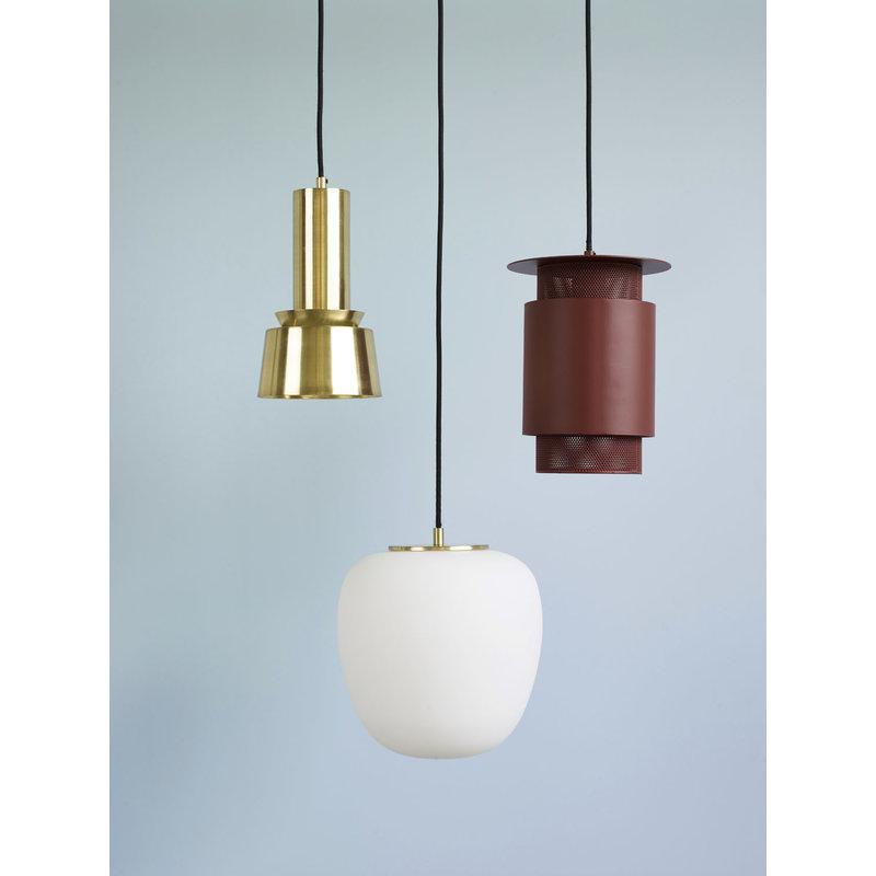 Hübsch 990820 Hanglamp - ø15 x H26 cm - Messing