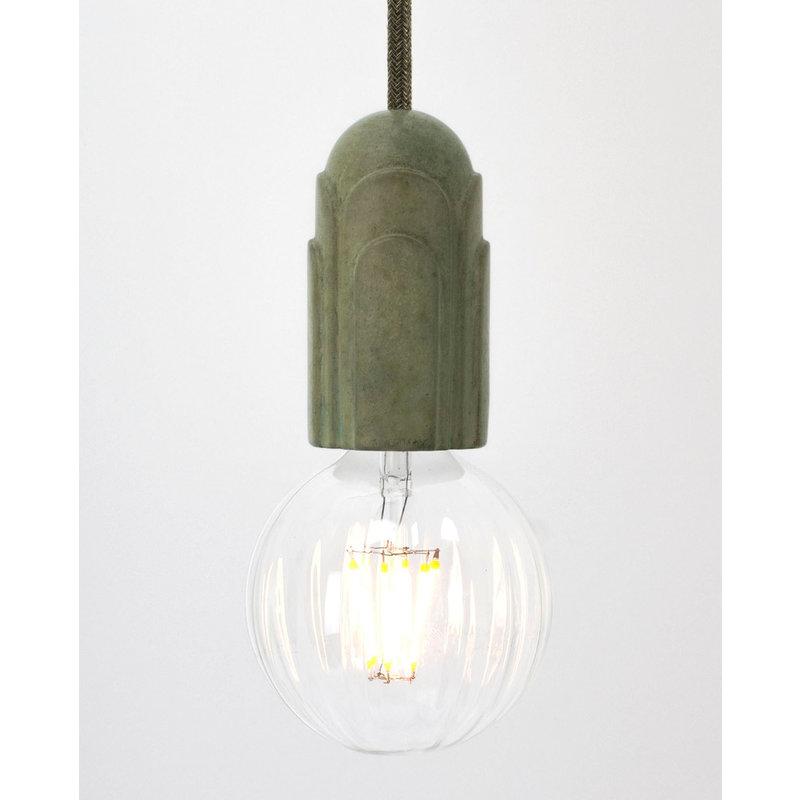 Hommage Department HD.101GN.PGN Hanglamp - Art Deco - Ø5,5 x H10 cm - Groen