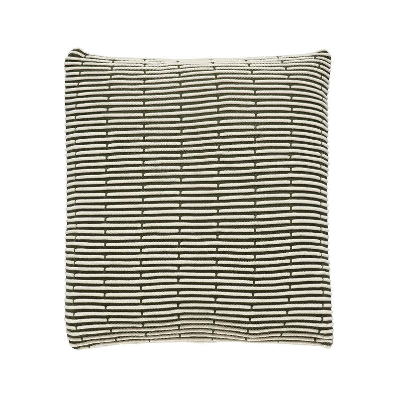 Hübsch 220703 Sierkussen - 50 x 50 cm - Groen