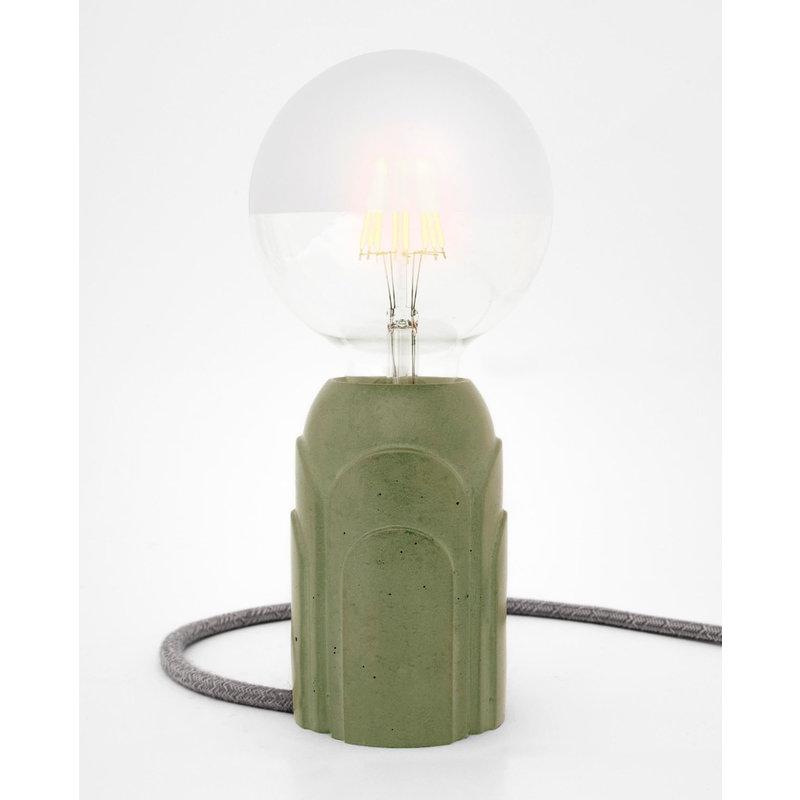 Hommage Department HD.102GN.SGN Tafellamp - Art Deco - Ø7 x H11 cm - Groen