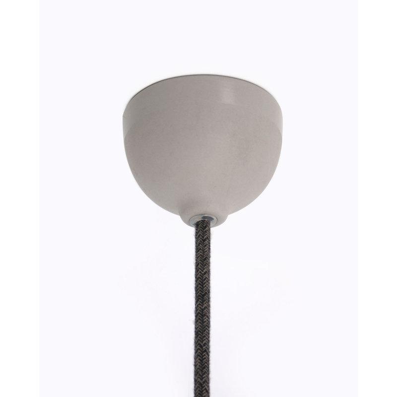 Hommage Department HD.104BK.PBK Hanglamp - Flowers - Ø6 x H8,5 cm - Zwart