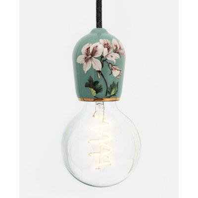 Hommage Department HD.104GN.PBK Hanglamp - Flowers - Ø6 x H8,5 cm - Groen