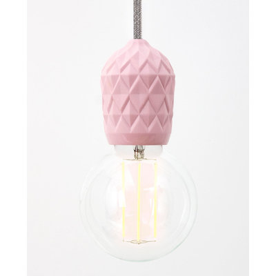 Hommage Department HD.107PK.PGY Hanglamp - Shades - Ø6 x H8,5 cm - Roze