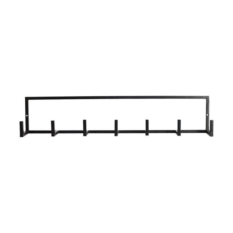 House Doctor Kapstok Rack zwart 60 x 12 cm