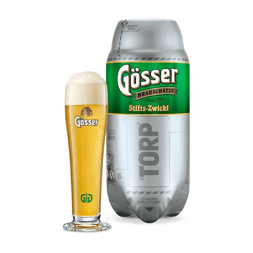 Gösser Zwickl TORP - Best before 28/02/2019