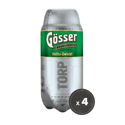 4 per 3 bundle grennaio - Gösser Zwickl