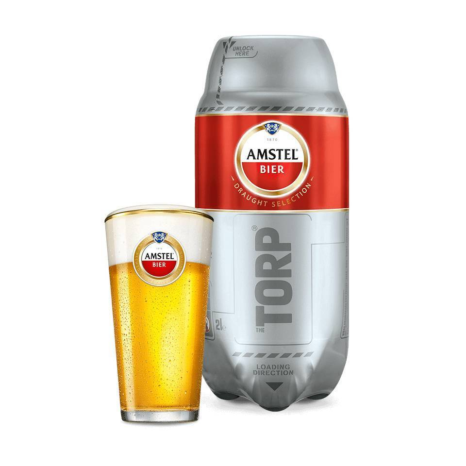 Amstel TORP - Best before 30/04/2019