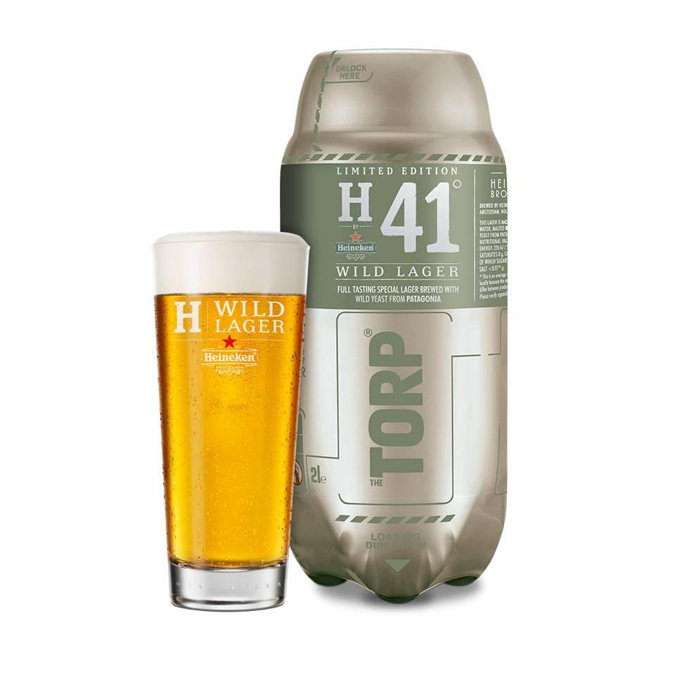 H41 Wild Lager TORP - Consumo preferente 31/08/2018
