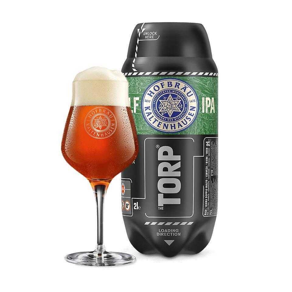 Hofbräu Kaltenhausen Gandolf IPA  TORP - Best before 30/11/2018