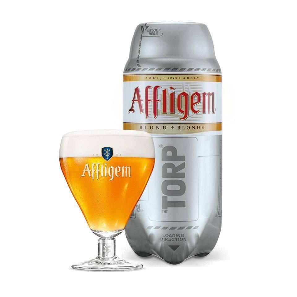 Affligem Blonde TORP - Consumo preferente 31/01/2019