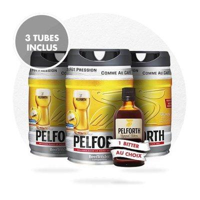 TRIO PELFORTH + 1 BITTER