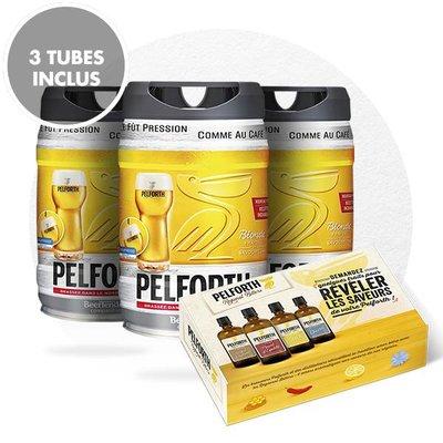 TRIO PELFORTH + 1 COFFRET BITTERS