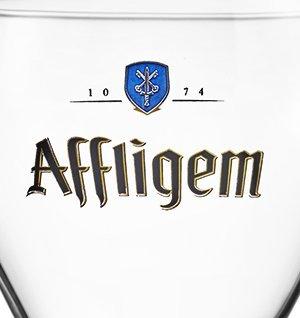 LOT DE 6 VERRES AFFLIGEM 50CL