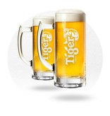 LOT DE 6 VERRES TIGER 30 CL