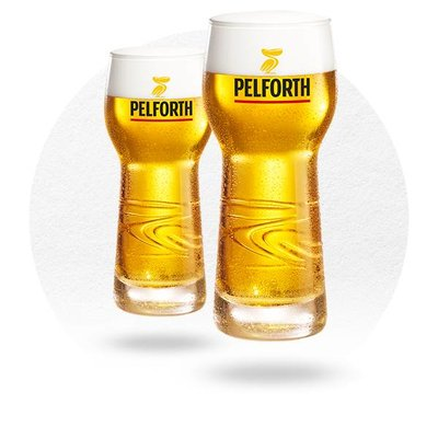 LOT DE 6 VERRES PELFORTH 25 CL